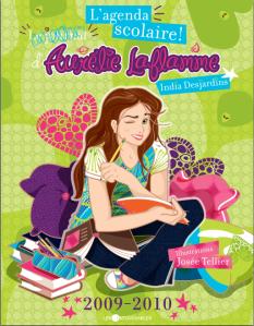 L'agenda scolaire d'Aurelie Laflamme