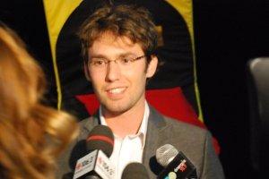 Philippe-Antoine Lehoux à la conférence de presse
