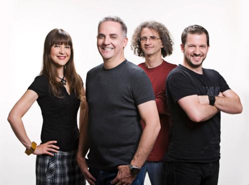 Gina Desjardins, Denis Talbot, Claude Arson et Tristan Geoffroy
