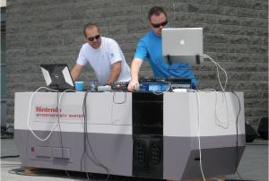 Charles-Philippe Amyot et Émile Gauthier (Ubisoft DJs)